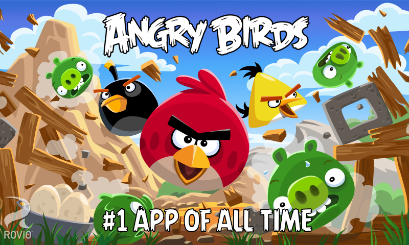 Rovio celebrates 4th birthday of Angry Birds with 15 new Birdday