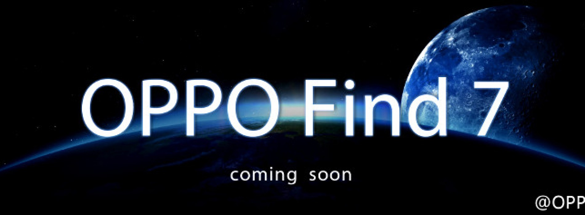 Oppo teasing Find 7 on Twitter, launching soon