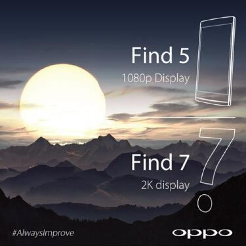 Oppo racing to introduce first 2K smartphone with Find 7