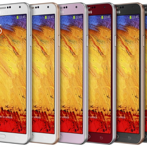 Samsung debuts three new color options for Galaxy Note 3