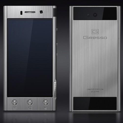 Gresso dials up $1800 titanium Android smartphone