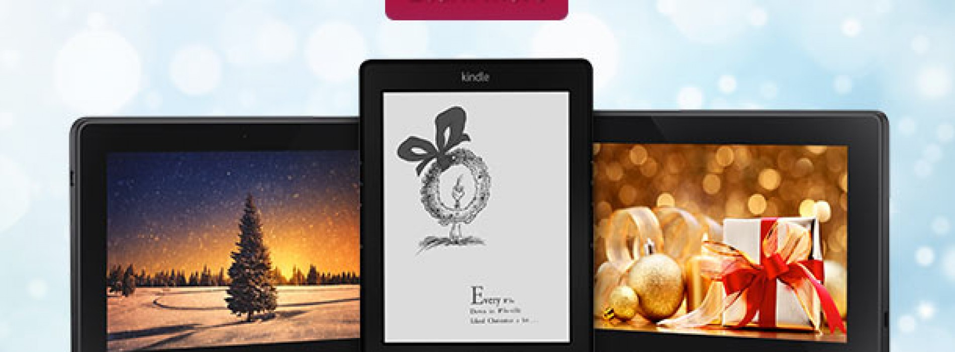 Amazon slashes Kindles by 20% for one day only