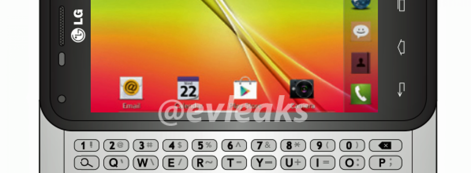 T-Mobile's LG Optimus F3Q leaks with 5-row QWERTY