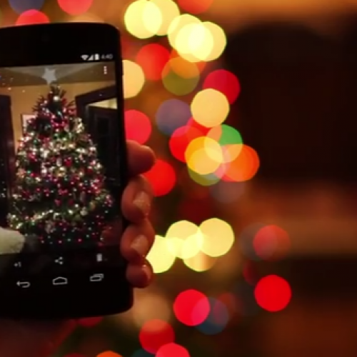 Google+ app for Android turns any photo into snowglobe