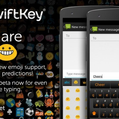 New SwiftKey beta brings number key row and emoji