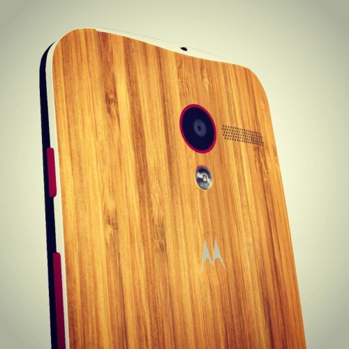 Motorola now offering Bamboo back for Moto X