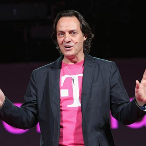 "T-Mobile CEO ""crashes"" AT&T party in Las Vegas"