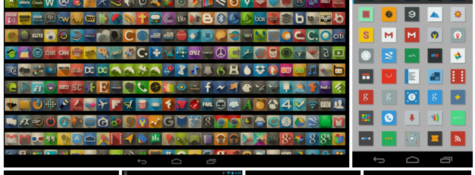 10 Android icon packs you need to download now (Volume 6)