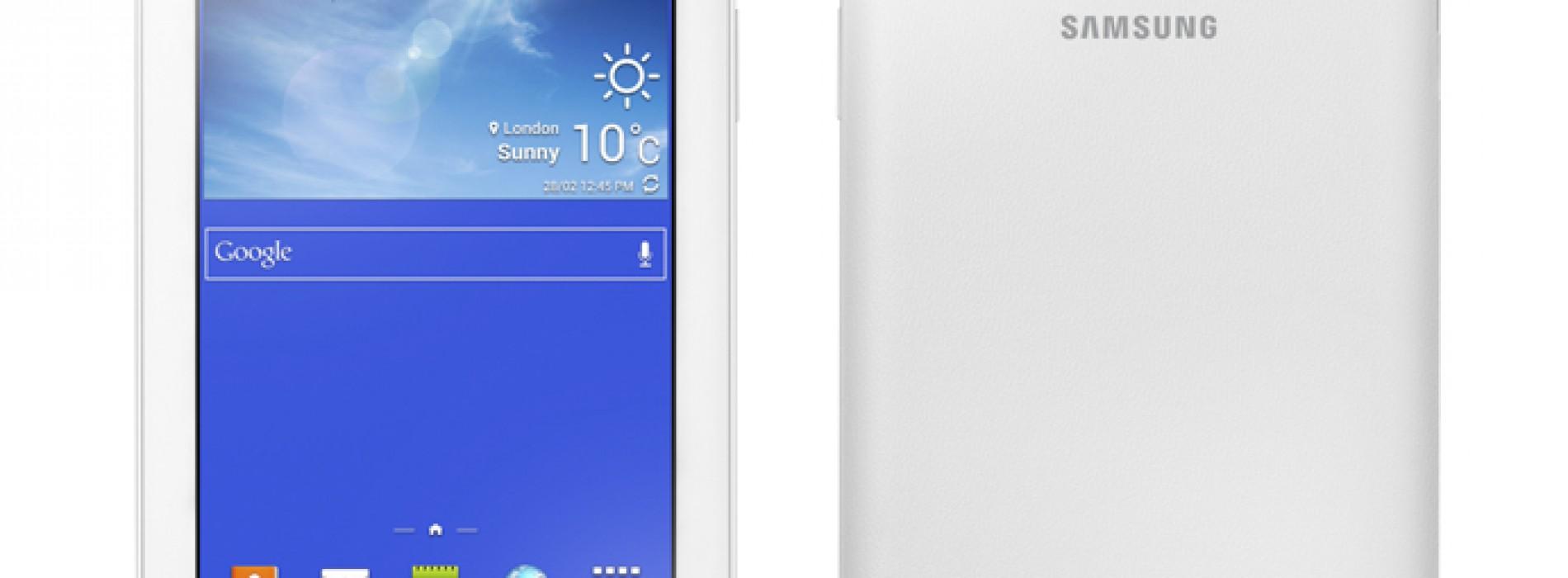 "Samsung unveils Galaxy Tab3 Lite (7"")"