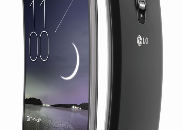 LG G Flex (side by side)