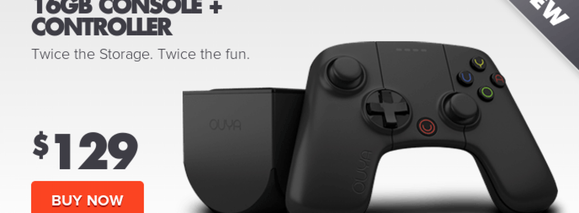 OUYA refreshes gaming console
