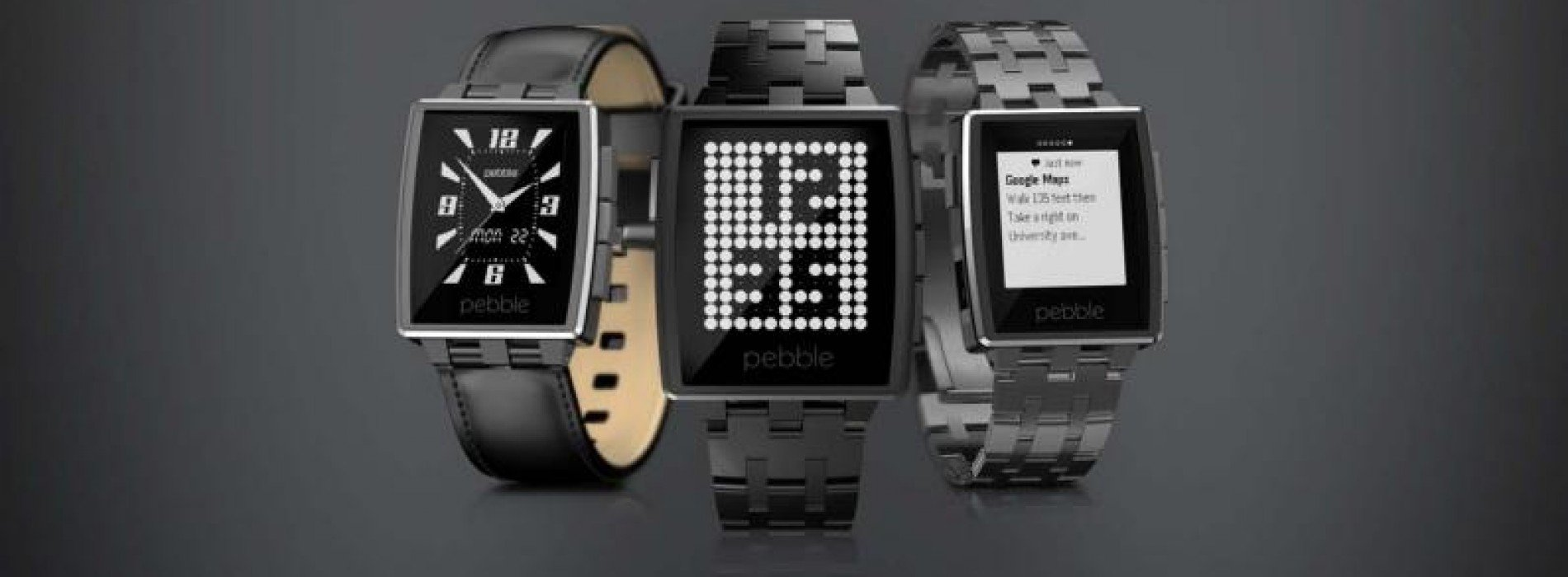 Pebble announces the Pebble Steel – a revamped version of their first generation smartwatch