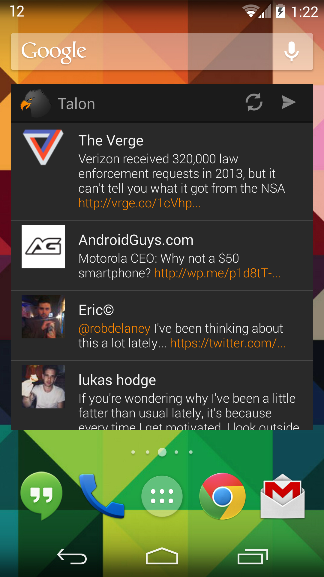Talon Widget