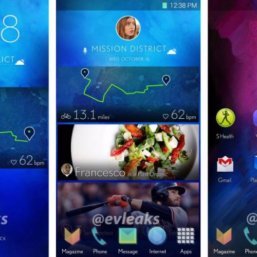 New leak suggests Samsung working on a revamped Touchwiz