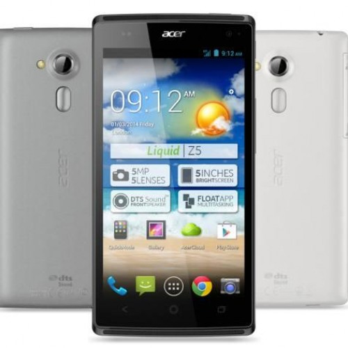 Acer's affordable Liquid Z5 debuts for Europe