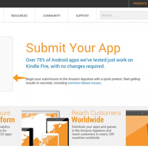 Amazon Appstore overhauls developer portal