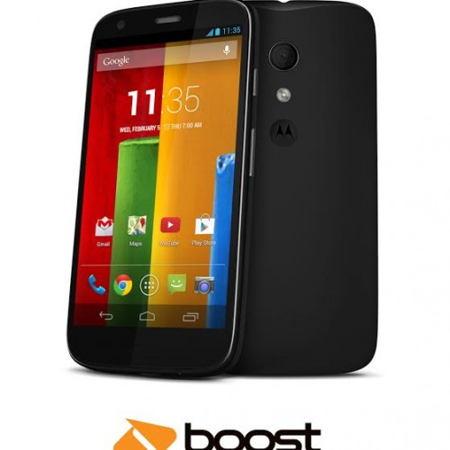 Moto G now available through Boost Mobile