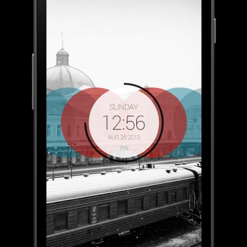 Get This Look: Circles Clock