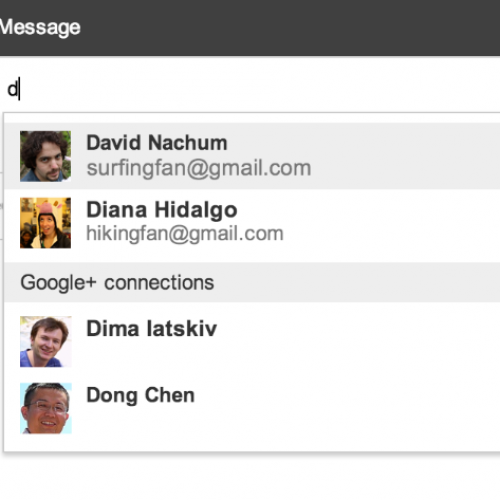 Gmail now lets users email Google+ connections, opt out available
