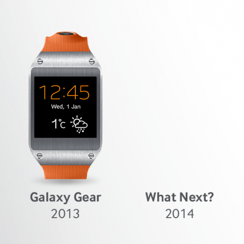 Galaxy Gear 2 rumored with bendable display