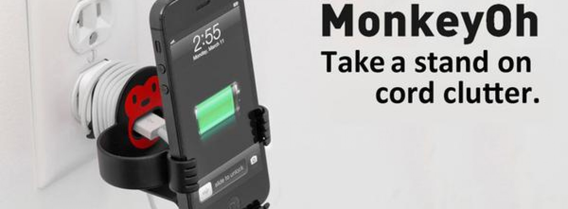 MonkeyOh Smartphone Holder hands-on