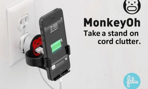 MonkeyOh Smartphone Holder hands-on
