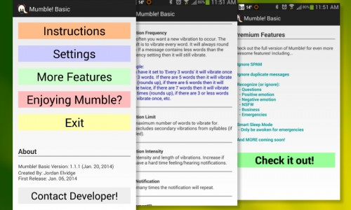 Customize vibration alerts with Mumble! [App Review]