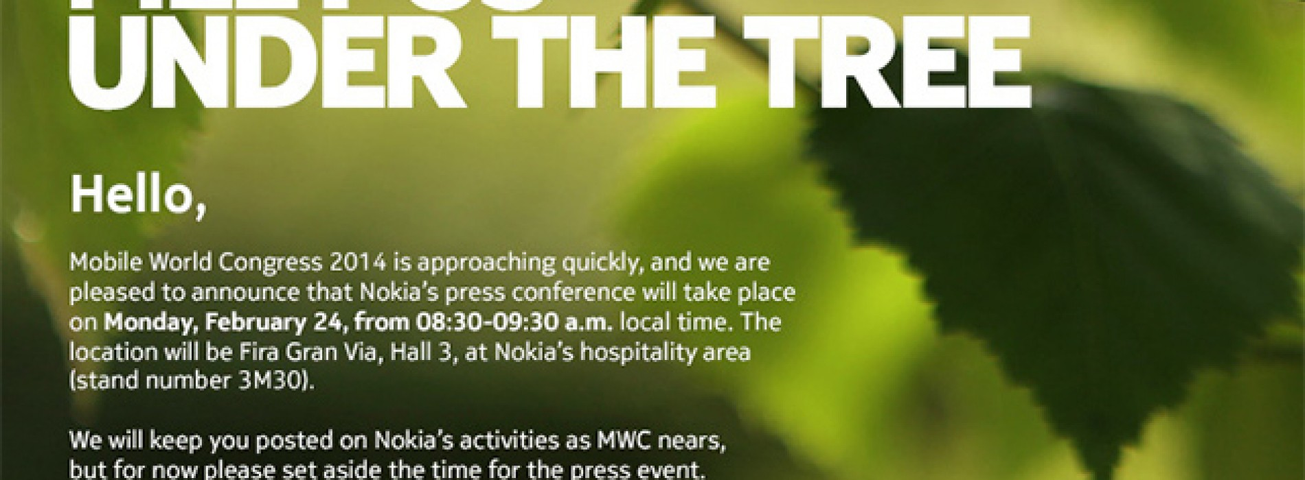 Nokia's Mobile World Congress event could be long-awaited foray into Android