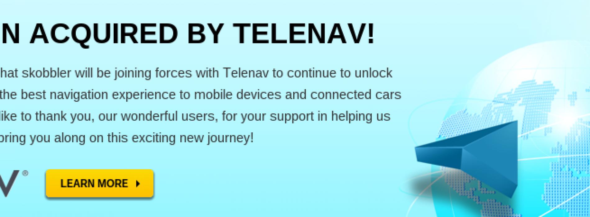Telenav Acquires skobbler, the Leader in OpenStreetMap-based GPS Navigation