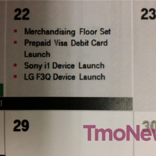 T-Mobile to launch Sony Xperia Z1S, LG F3Q on January 22 – leak