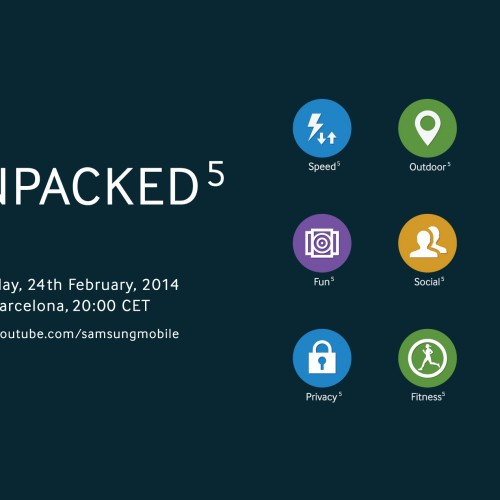 Samsung teases new Touchwiz UI with Unpacked 2014 image