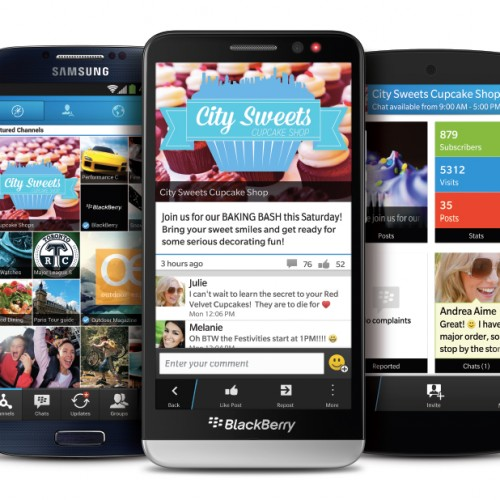 BBM 2.0 is on its way to Android