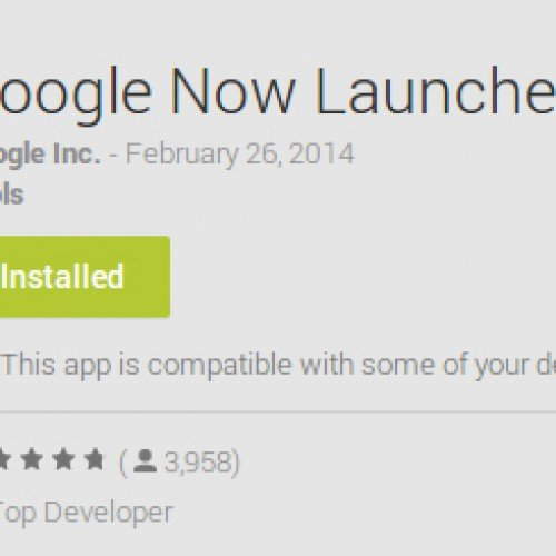 Have a Nexus or GPE device? Download the Google Now Launcher OFFICIALLY from Google Play