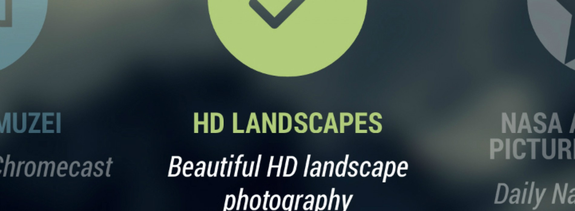 Muzei HD Landscapes sets beautiful landscapes as your wallpaper through Muzei [App of the Day]
