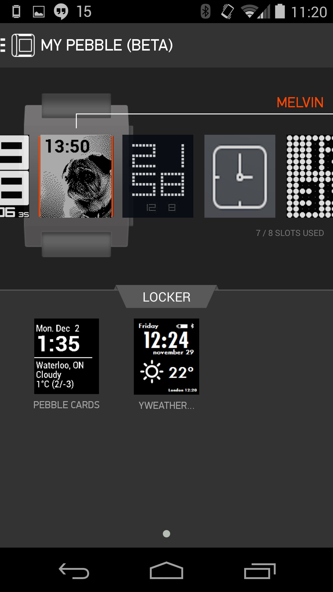 My Watchfaces