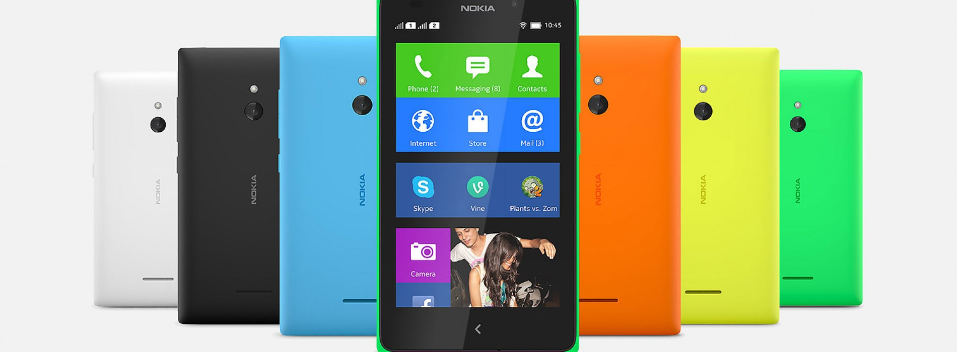 Nokia debuts Android-powered X, X+, and XL