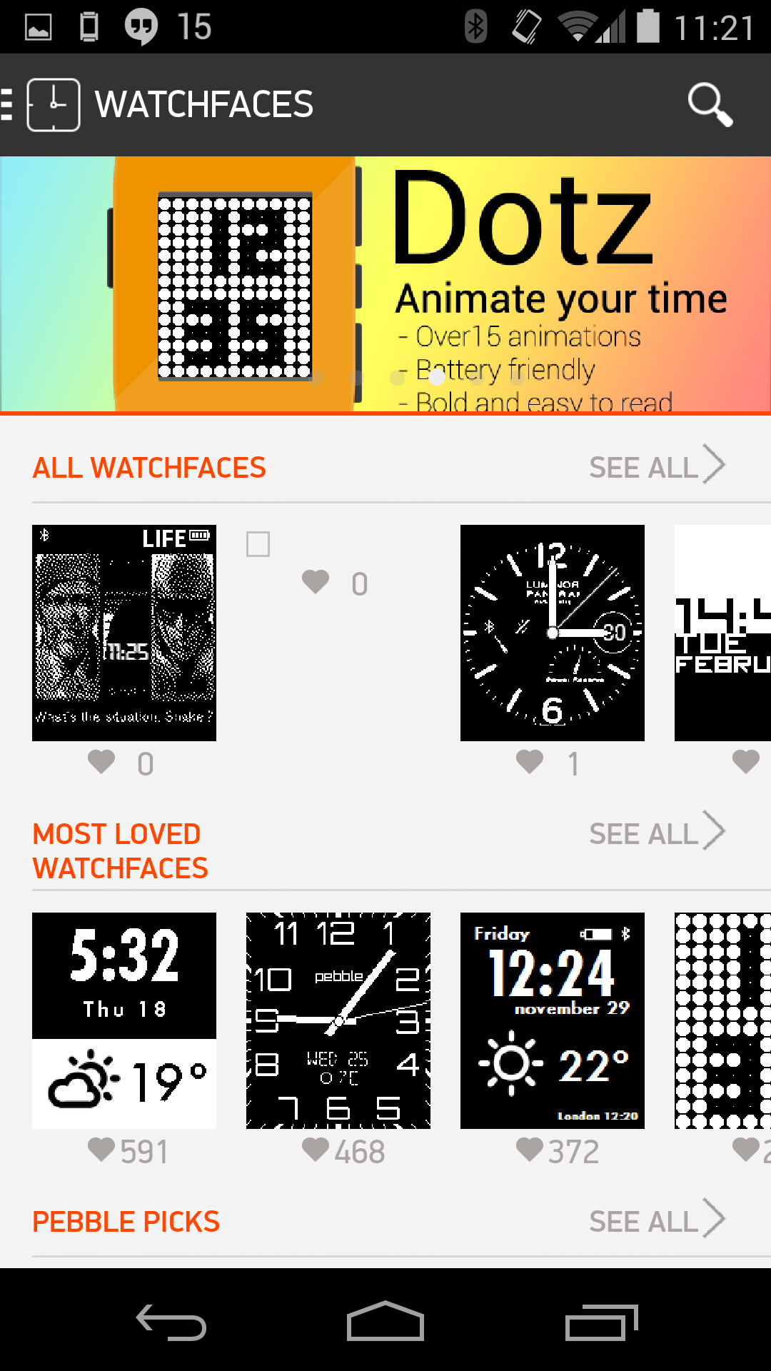 Watchfaces