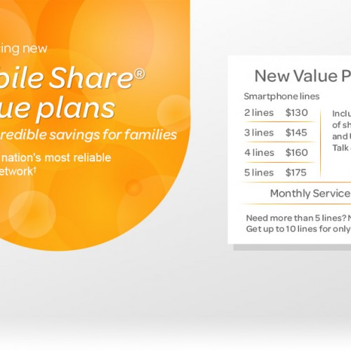 AT&T drops price of 10GB shared data plan