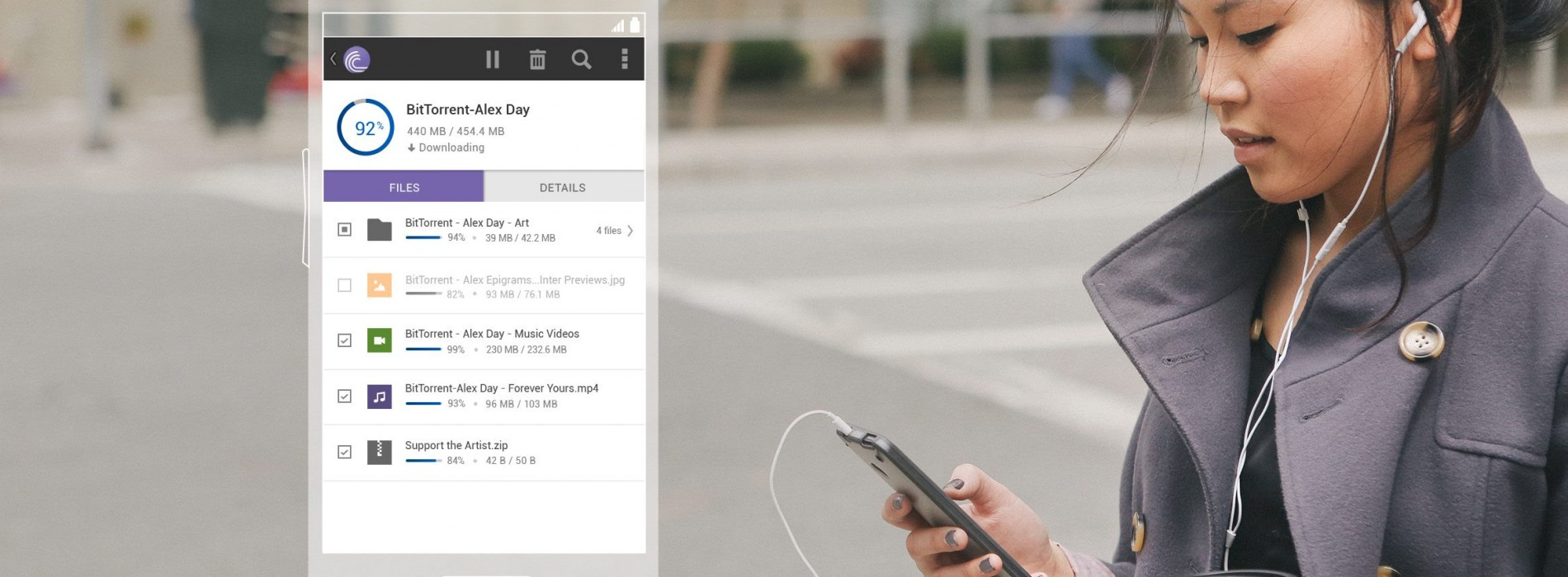 BitTorrent app updated with new design and better management
