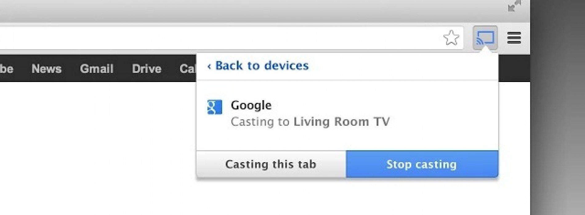Google offers up public beta channel for Google Cast extension