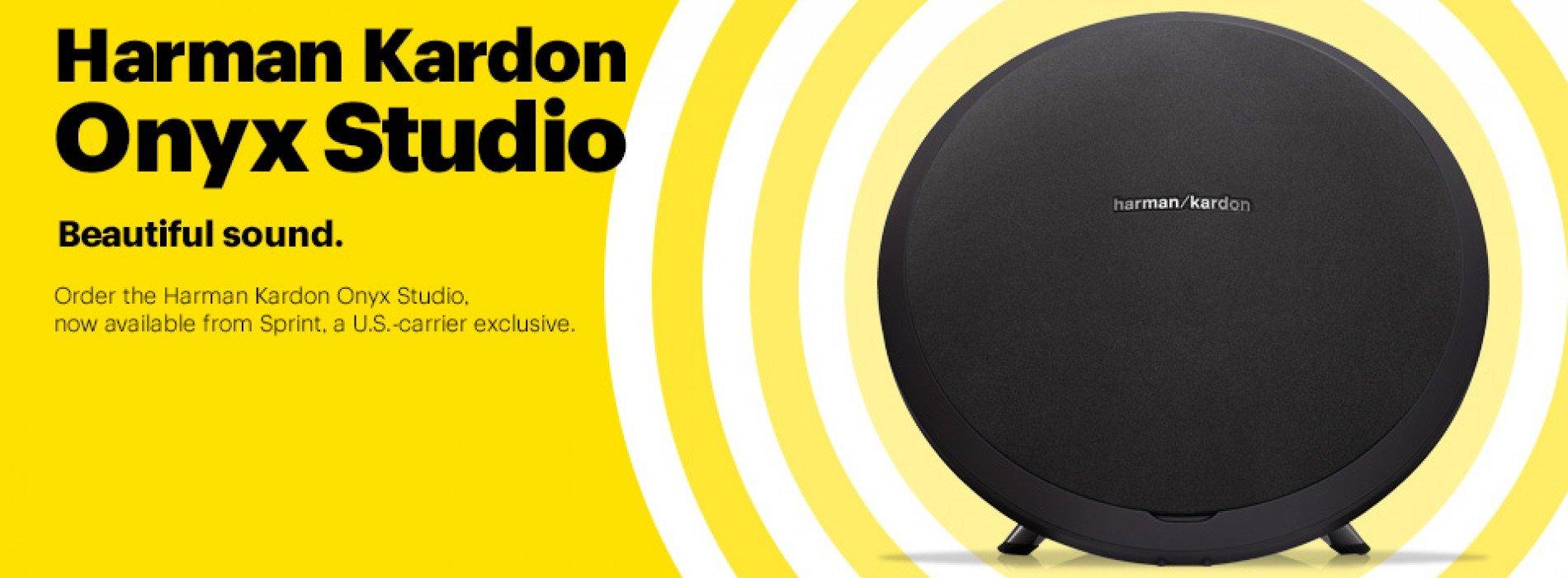 Sprint gets into high end audio game with Harman Kardon