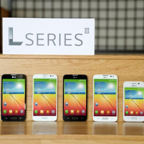 LG intros trio of L Series III smartphones