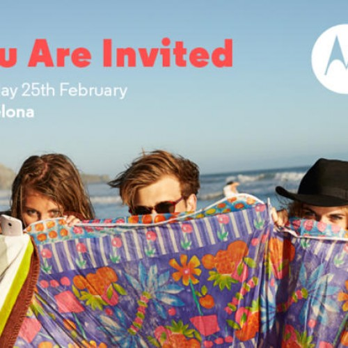 Motorola holding press event on February 25