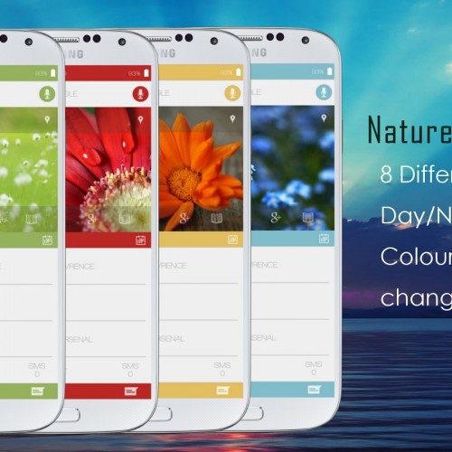 Get This Look: Nature Evolved UI
