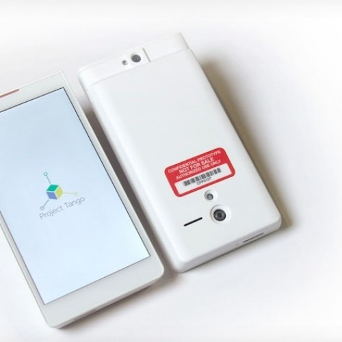 The future is awesome with Google's Project Tango