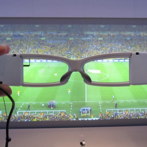 Sony demos new SmartEyeglass concept