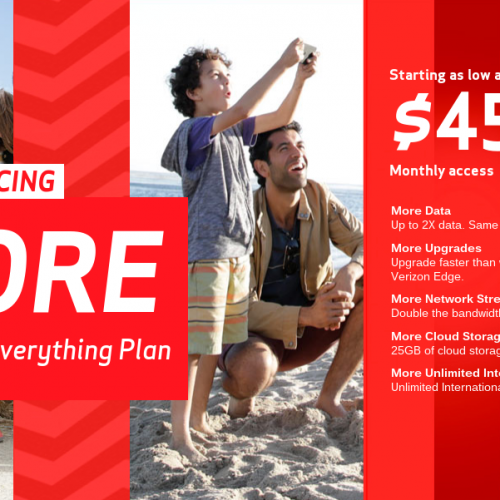 Higher data, lower prices: Verizon now offering MORE Everything
