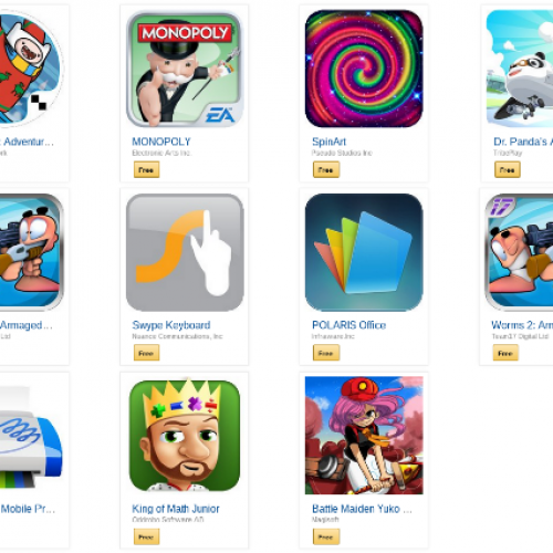 Amazon offering $50 in free apps for Appstore's third birthday