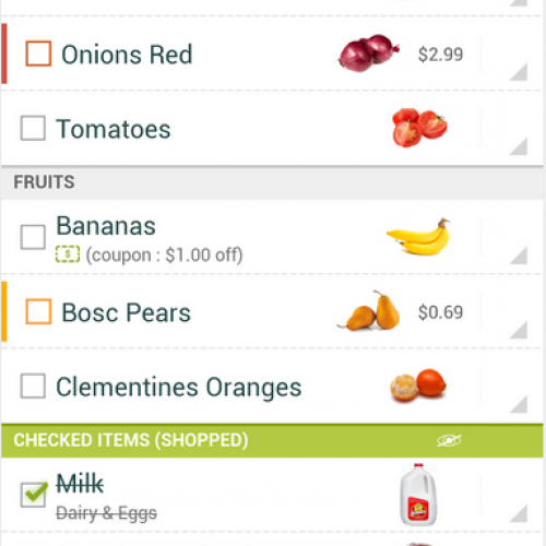 Grocery King releases free version, no coupon needed