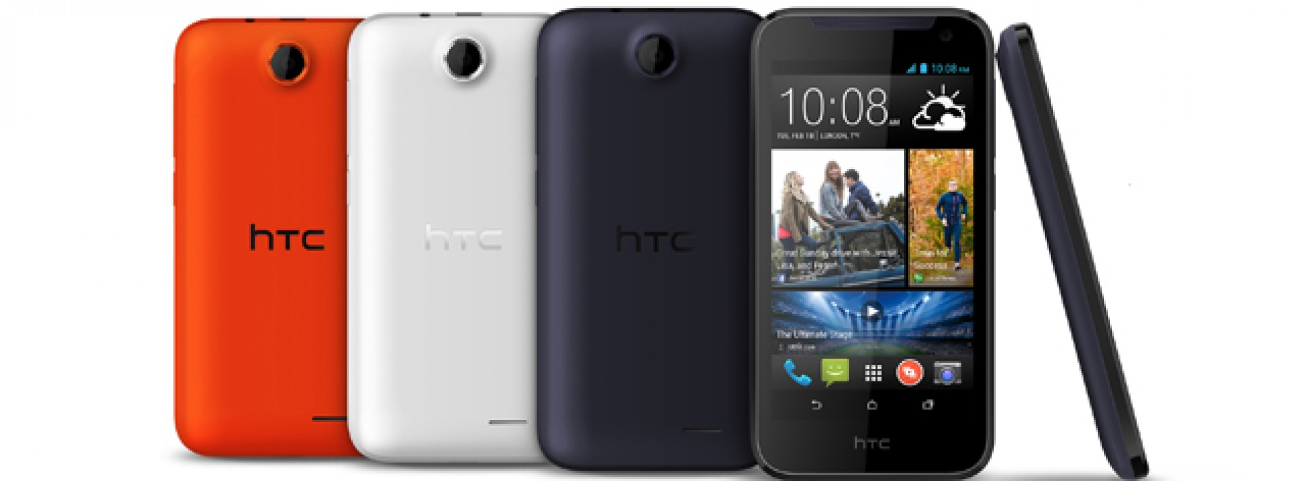 HTC introduces entry-level Desire 310